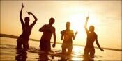 Events aan het strand voor singles