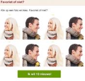 Favoriet of niet nieuwe matchoptie bij Relatieplanet.nl