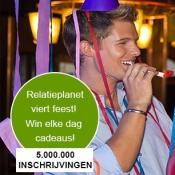 Online dating site Relatieplanet viert feest met 5 miljoen inschrijvingen